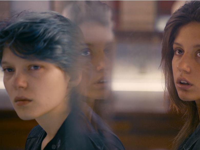 Adèle Exarchopoulos et Léa Seydoux