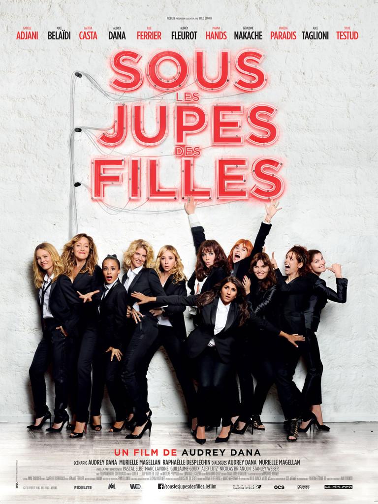 Affiche du film sous les jupes des filles