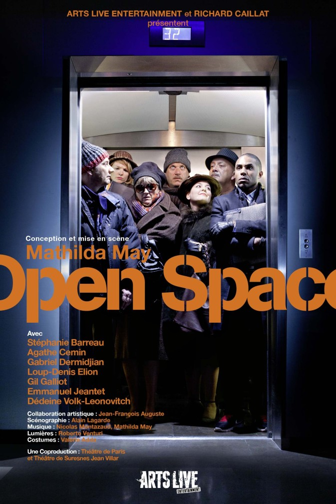 Open space, la pièce de Mathilda May, au théâtre du rond Point