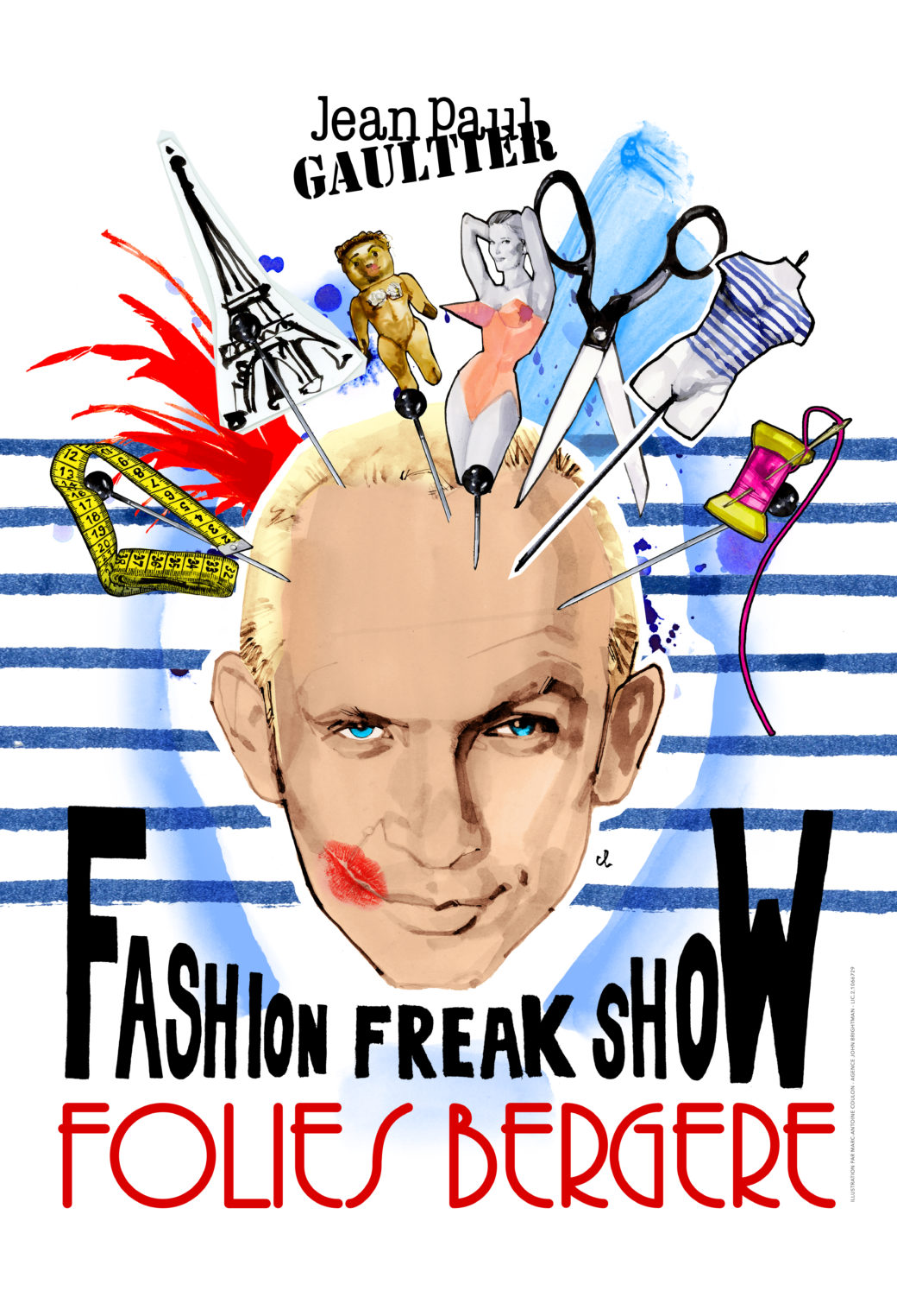 Fashion freak show Jean Paul GAULTIER