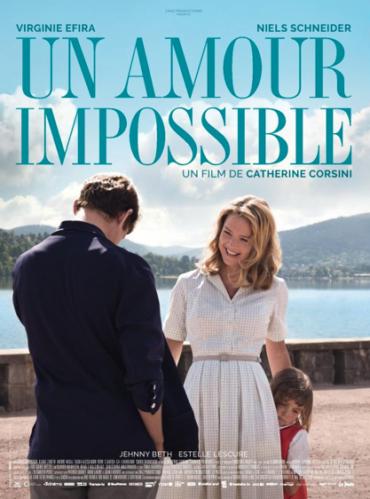 "Virginie Efira et Niels Schneider dans ""Un amour impossible"""