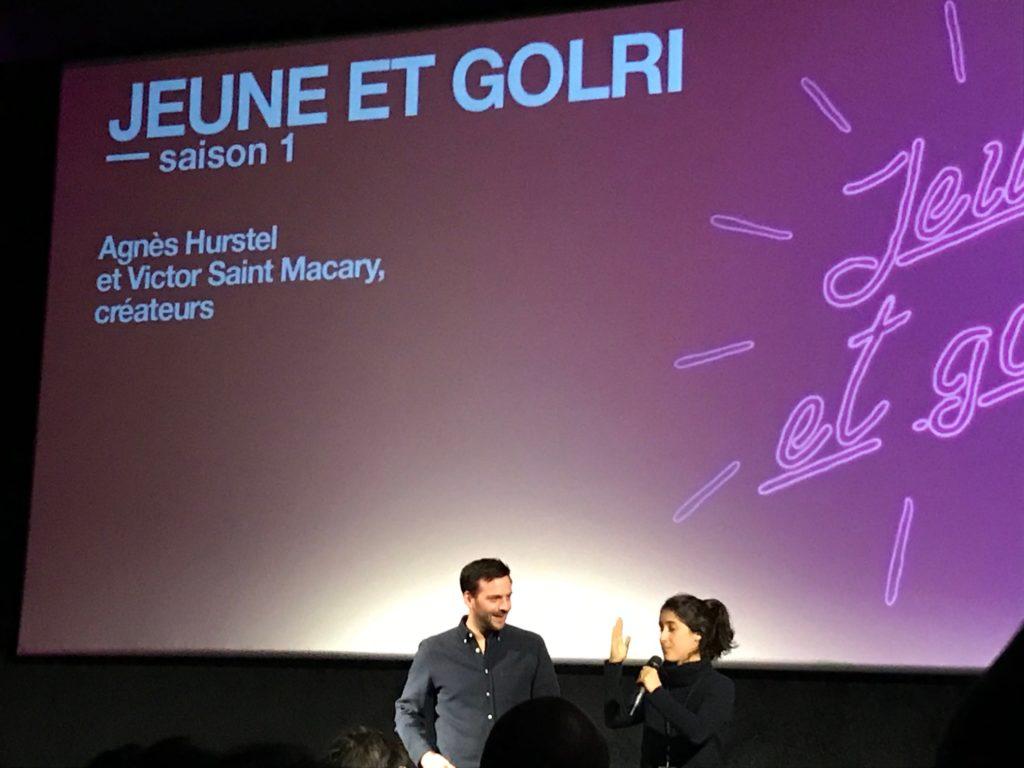 Victor Saint Macary et Agnès Hurstel
