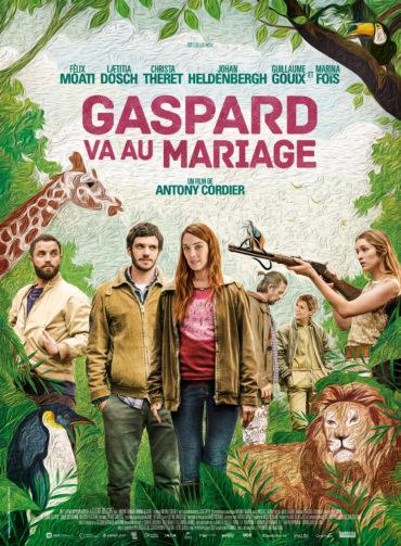 gaspard va au mariage affiche du film